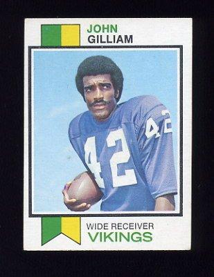 1973 Topps Football #85 John Gilliam - Minnesota Vikings