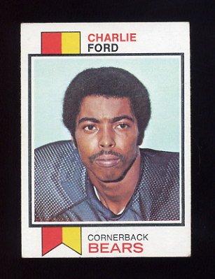 1973 Topps Football #451 Charlie Ford - Chicago Bears