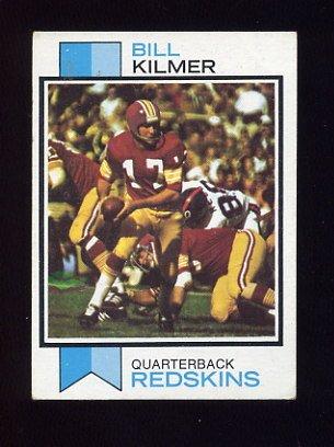 1973 Topps Football #499 Billy Kilmer - Washington Redskins