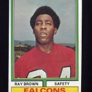 1974 Topps Football #514 Ray Brown RC - Atlanta Falcons p