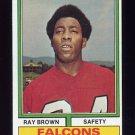 1974 Topps Football #514 Ray Brown RC - Atlanta Falcons ExMt