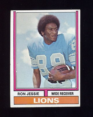 1974 Topps Football #469 Ron Jessie - Detroit Lions