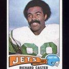 1975 Topps Football #515 Richard Caster - New York Jets Ex