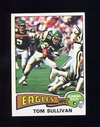 1975 Topps Football #509 Tom Sullivan - Philadelphia Eagles