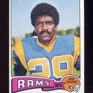 1975 Topps Football #505 Harold Jackson - Los Angeles Rams Ex