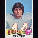 1975 Topps Football #504 Fred Willis - Houston Oilers