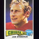 1975 Topps Football #488 Jan Stenerud - Kansas City Chiefs