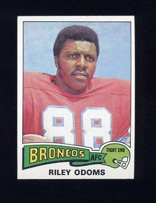 1975 Topps Football #470 Riley Odoms - Denver Broncos