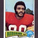 1975 Topps Football #444 Roy Jefferson - Washington Redskins