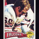 1975 Topps Football #436 Tommy Nobis - Atlanta Falcons NM-M