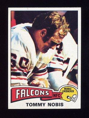 1975 Topps Football #436 Tommy Nobis - Atlanta Falcons NM-M