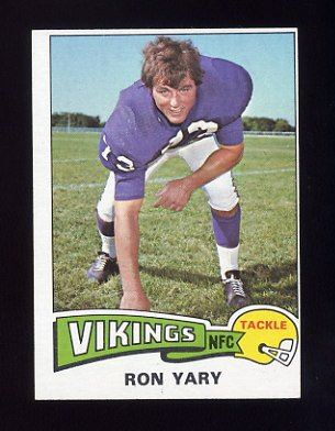 1975 Topps Football #433 Ron Yary - Minnesota Vikings Ex