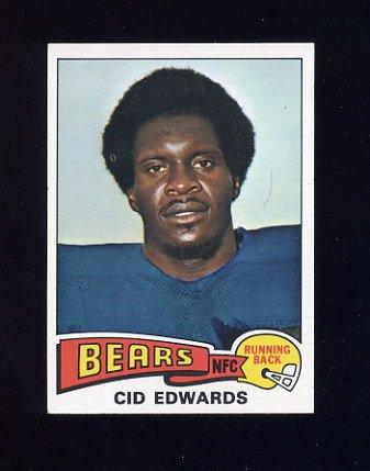 1975 Topps Football #429 Cid Edwards - Chicago Bears