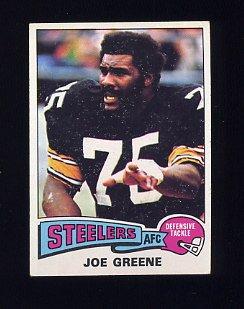 "1975 Topps Football #425 ""Mean"" Joe Greene - Pittsburgh Steelers"