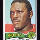 1975 Topps Football #391 Tommy Hart - San Francisco 49ers NM-M