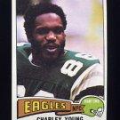 1975 Topps Football #390 Charley Young - Philadelphia Eagles