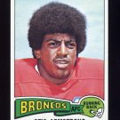 1975 Topps Football #350 Otis Armstrong RC - Denver Broncos NM-M