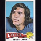 1975 Topps Football #329 Bruce Laird - Baltimore Colts