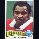1975 Topps Football #325 Willie Lanier - Kansas City Chiefs