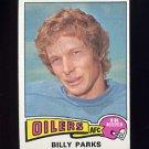 1975 Topps Football #324 Billy Parks - Houston Oilers
