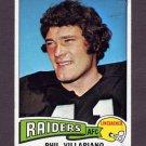 1975 Topps Football #320 Phil Villapiano - Oakland Raiders