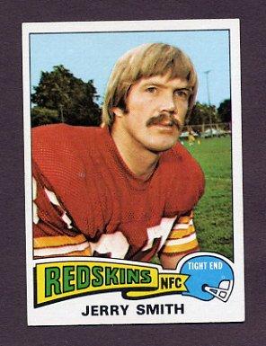 1975 Topps Football #277 Jerry Smith - Washington Redskins