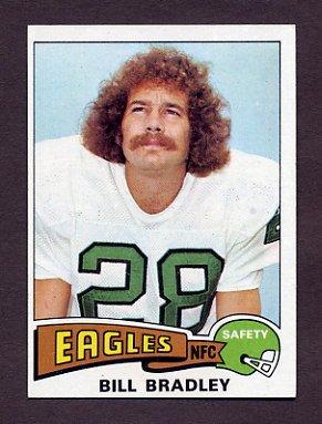 1975 Topps Football #276 Bill Bradley - Philadelphia Eagles NM-M