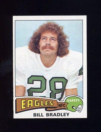 1975 Topps Football #276 Bill Bradley - Philadelphia Eagles ExMt