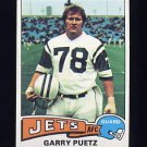 1975 Topps Football #259 Garry Puetz - New York Jets