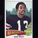 1975 Topps Football #241 Ken Riley - Cincinnati Bengals