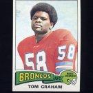 1975 Topps Football #239 Tom Graham - Denver Broncos