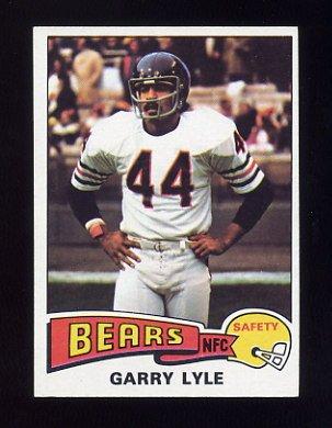 1975 Topps Football #237 Garry Lyle - Chicago Bears NM-M