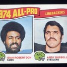 1975 Topps Football #219 Isiah Robertson / Andy Russell