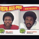 1975 Topps Football #211 Mel Gray / Isaac Curtis