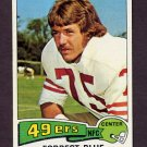 1975 Topps Football #180 Forrest Blue - San Francisco 49ers ExMt
