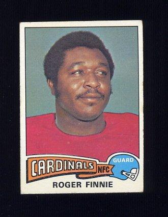 1975 Topps Football #127 Roger Finnie - St. Louis Cardinals Vg