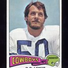 1975 Topps Football #118 D.D. Lewis - Dallas Cowboys Ex