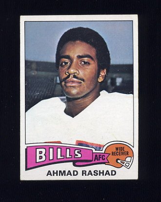 1975 Topps Football #115 Ahmad Rashad - Buffalo Bills