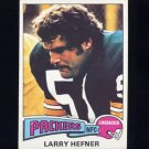 1975 Topps Football #111 Larry Hefner - Green Bay Packers