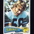 1975 Topps Football #107 Joe Federspiel - New Orleans Saints