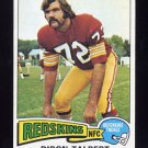 1975 Topps Football #106 Diron Talbert - Washington Redskins ExMt