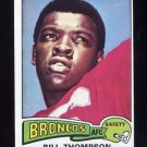 1975 Topps Football #104 Bill Thompson - Denver Broncos ExMt
