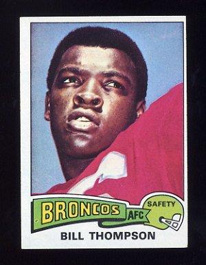 1975 Topps Football #104 Bill Thompson - Denver Broncos ExMt
