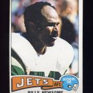1975 Topps Football #94 Billy Newsome - New York Jets Ex