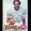 1975 Topps Football #83 Vic Washington - Houston Oilers NM-M