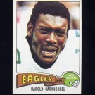 1975 Topps Football #80 Harold Carmichael - Philadelphia Eagles