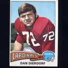 1975 Topps Football #35 Dan Dierdorf - St. Louis Cardinals