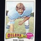 1975 Topps Football #24 Ron Saul - Houston Oilers