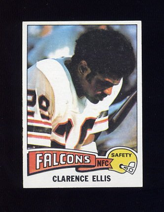 1975 Topps Football #18 Clarence Ellis - Atlanta Falcons