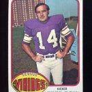 1976 Topps Football #479 Fred Cox - Minnesota Vikings